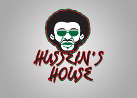 Hussein's House Logo